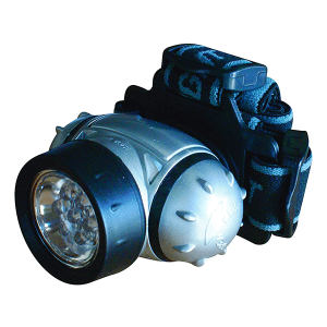 Lampe Frontale 7 LEDS